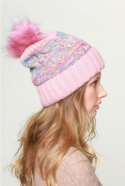 Underneath The Tree Pink Beanie