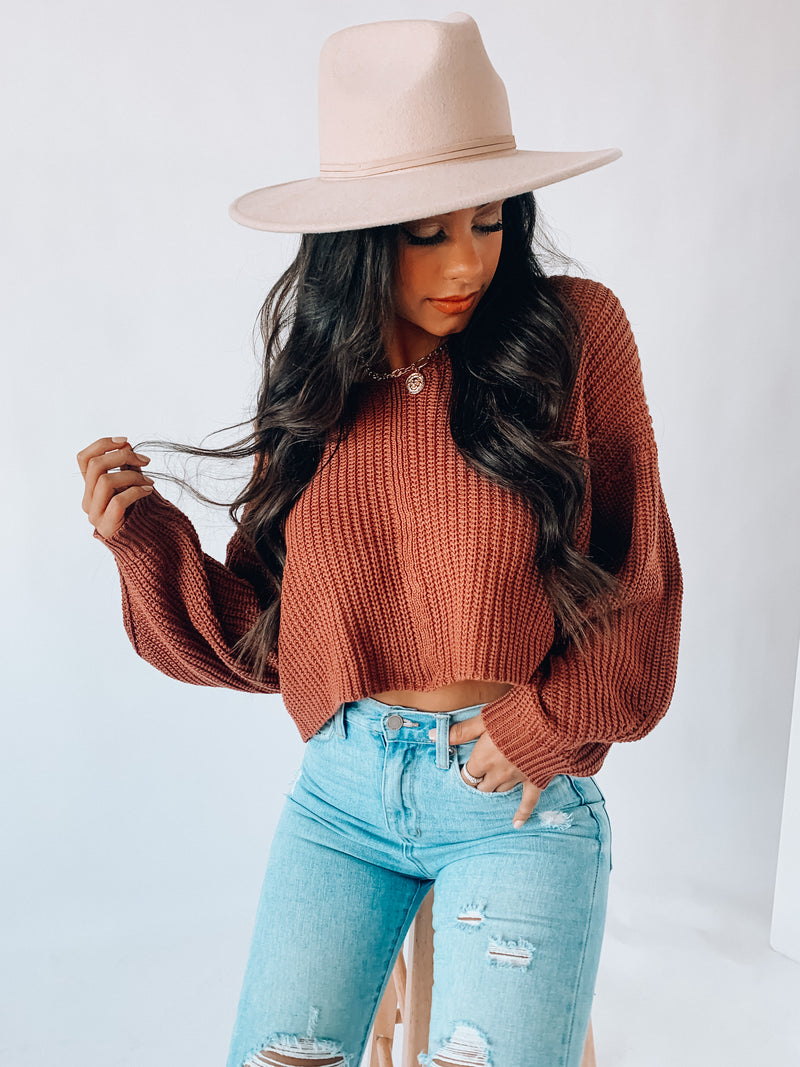 Remington Crop Sweater