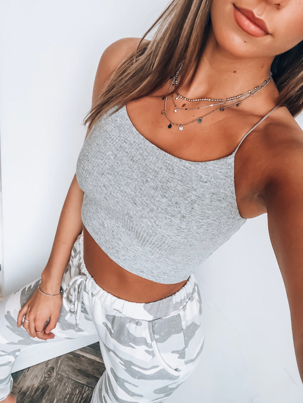 RESTOCKED: Go To Crop Top