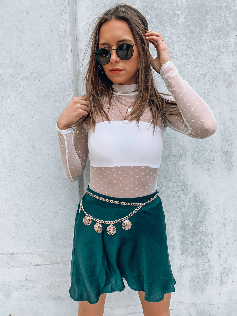 Evergreen Skater Skirt