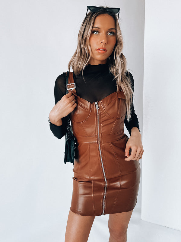Milani Pleather Dress