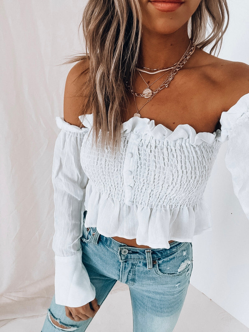 White Hera OTS Top