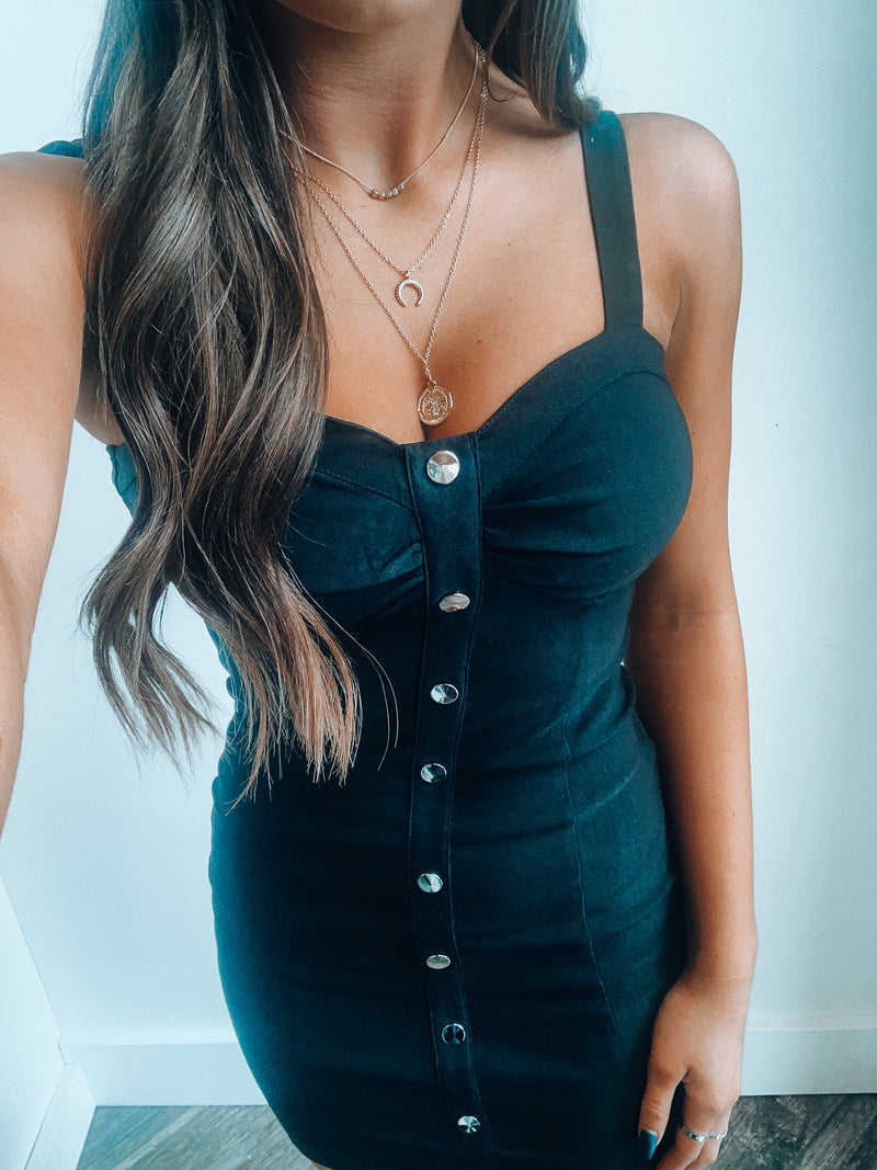 Bustier Mini Dress