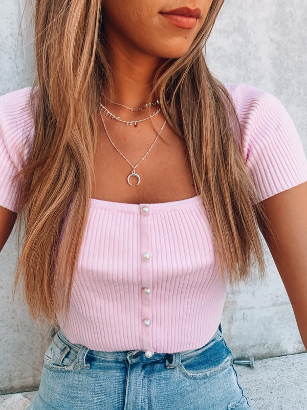 Heavenly Heart Knit Top