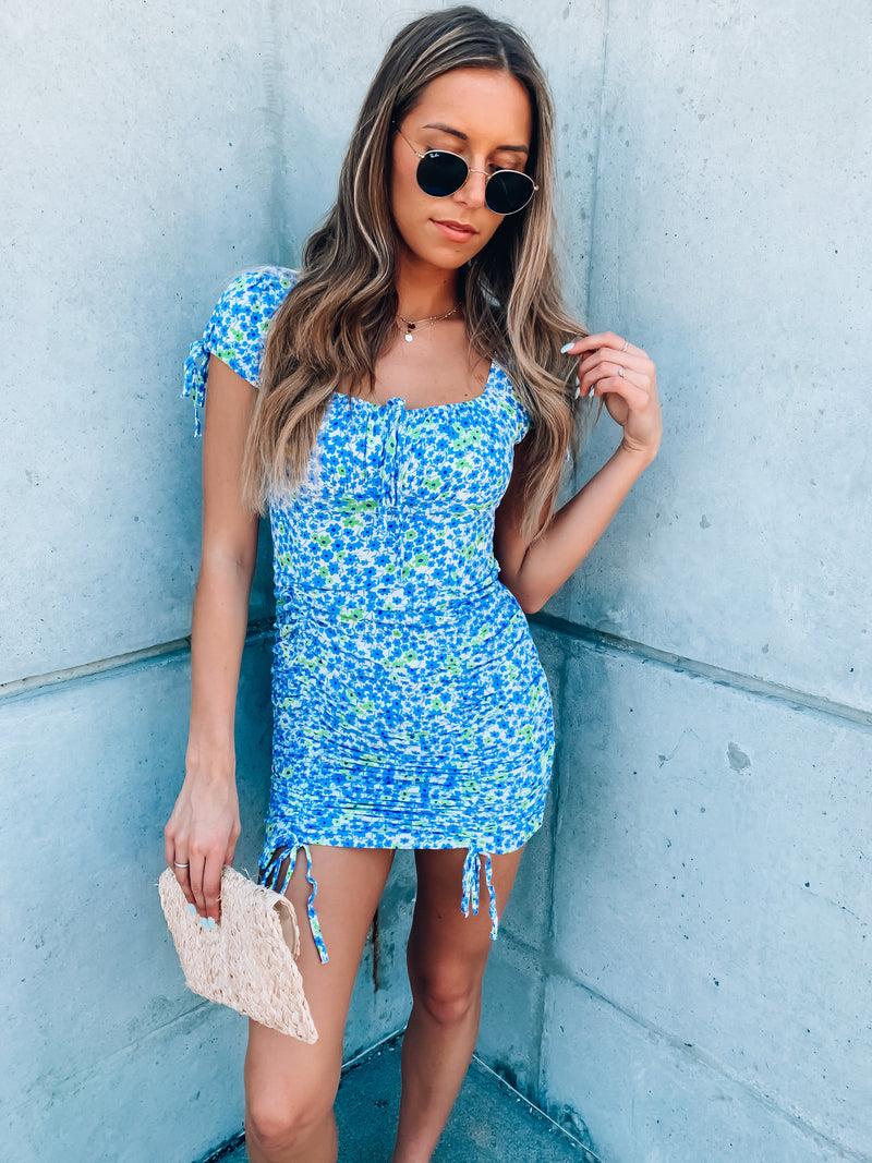 All For You Floral Dress