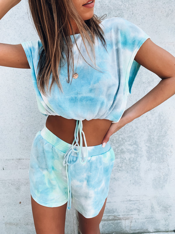 RESTOCKED: Eva Tie Dye Lounge Set