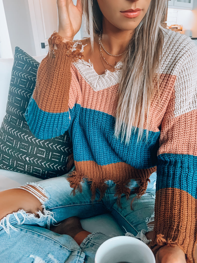Autumn Distressed Sweater