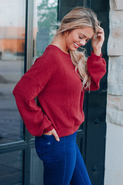 Bossily Knit Top