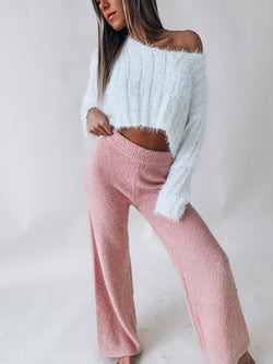 Chenille Bell Bottoms