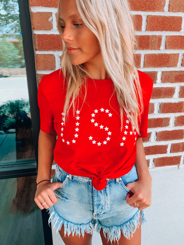 Written In The Stars USA Tee