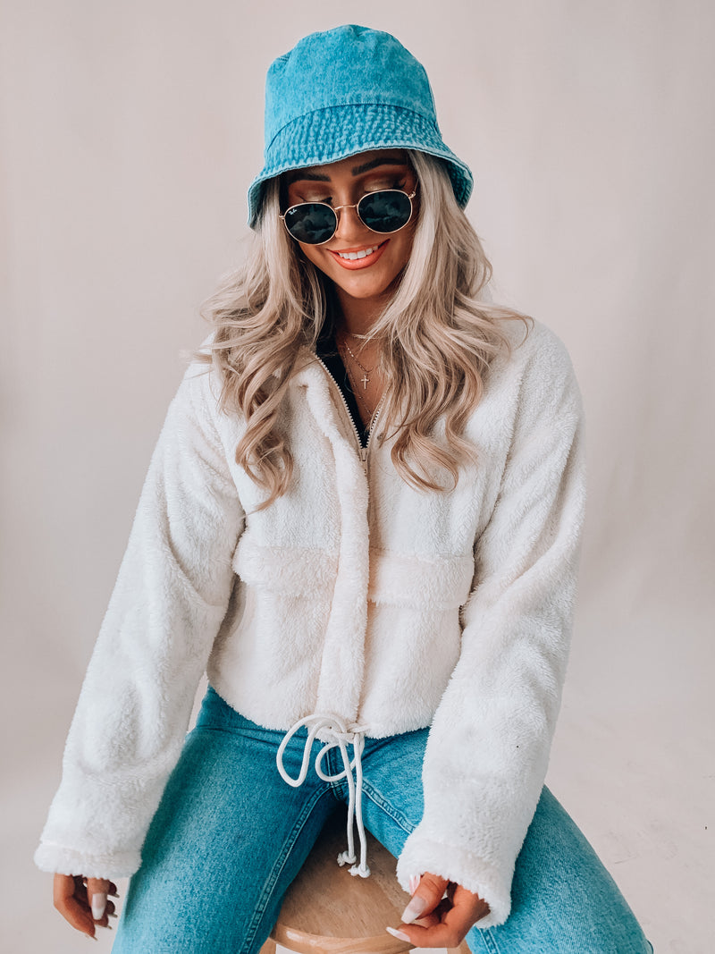 All The Snuggles Faux Fur Jacket