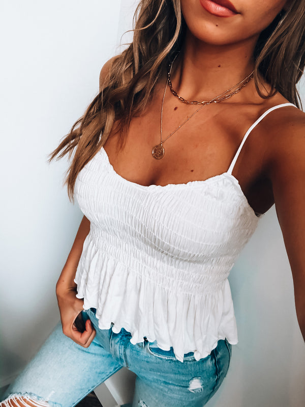White Mila Top
