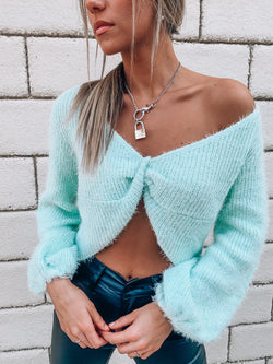 Piper Textured Knot Sweater