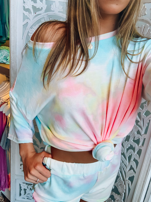 Ellie Bright Tie Dye Top