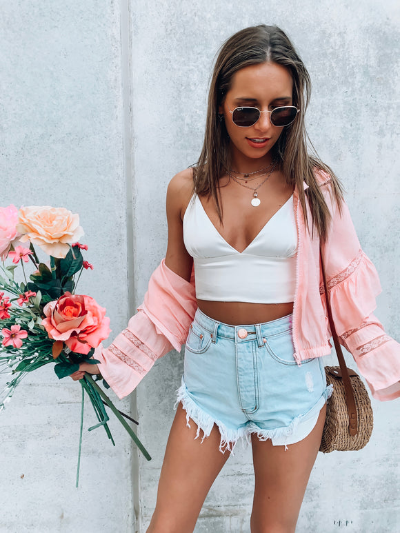 Sunkissed Pink Jacket