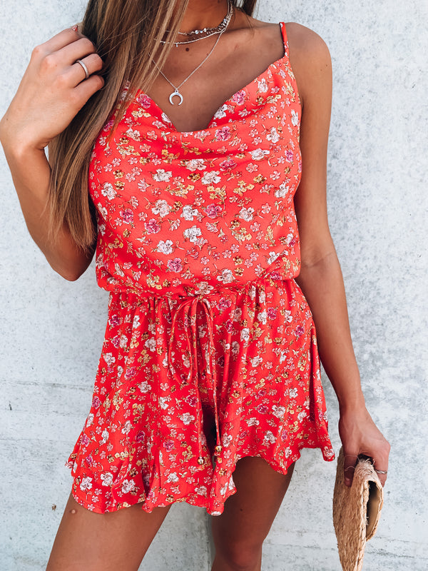 Polly Floral Romper