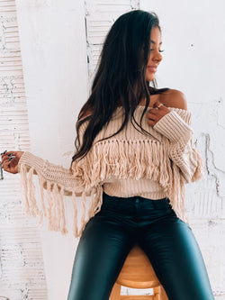 RESTOCKED:Georgia Tassel Sweater