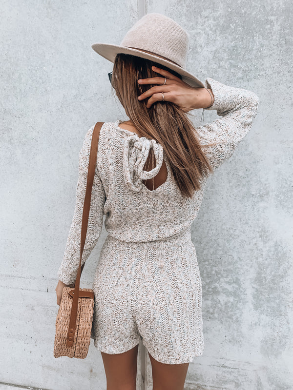 Carrie Knit Romper