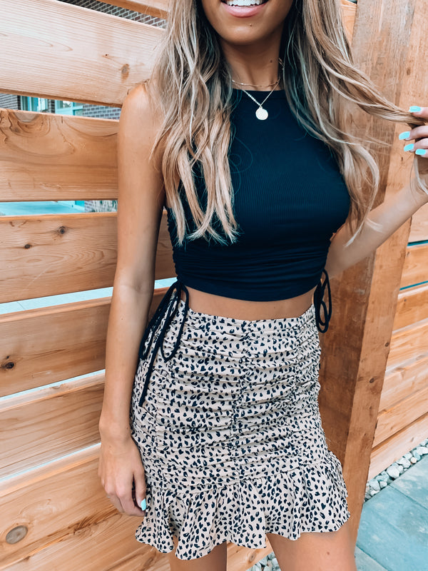 In the Wild Bodycon Skirt