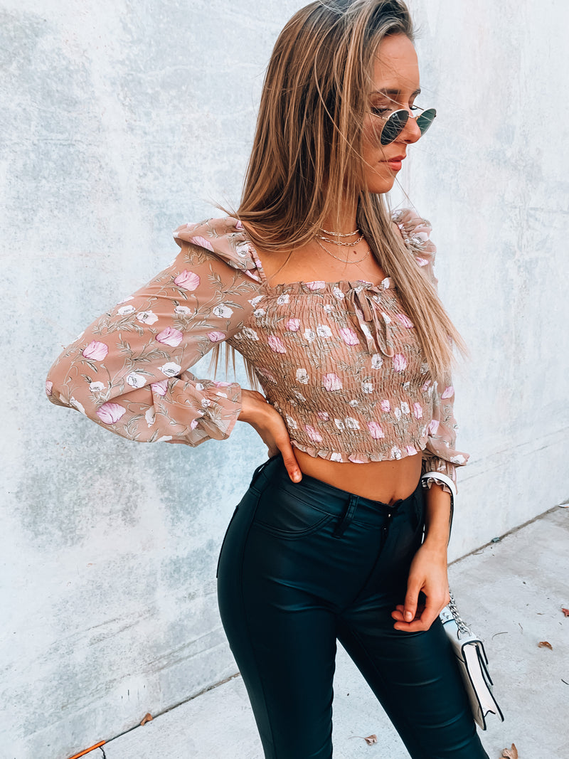 Lucci Floral Top