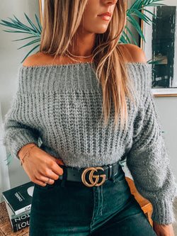 Heather Grey Natalie Sweater