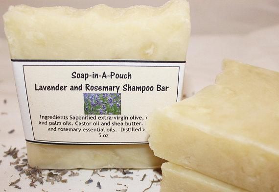 Shampoo bars at Soap-in-a-Pouch