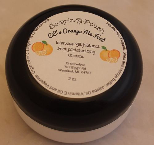 Orange Me Feet Foot Moisturizing Cream