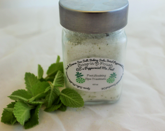Peppermint Me Feet Foot Soaking Spa Treatment