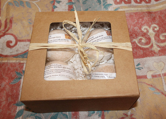 Frankincense and Myrrh Bath Bomb Gift Set