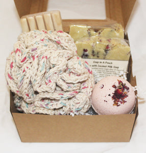 Limited Edition Valentines Bath Gift Set