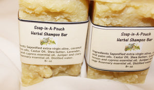 Natural Herbal Hair Shampoo Bar