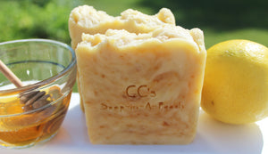 Honey and Lemon Soap