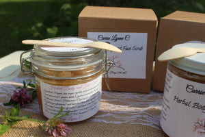 Herbal Body and Face Scrub