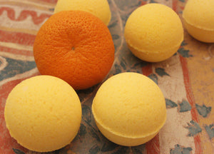 Natural Orange Bath Bomb