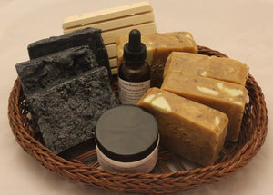 Men's Frankincense and Myrrh Bath and Body  Gift Set by Soapinapouch
