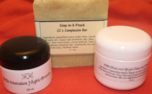 Natural Skin Care Set/Natural Facial Soap and Moisturizer Set