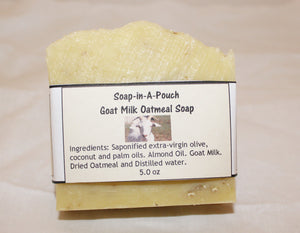 Goat Milk Oatmeal Soap