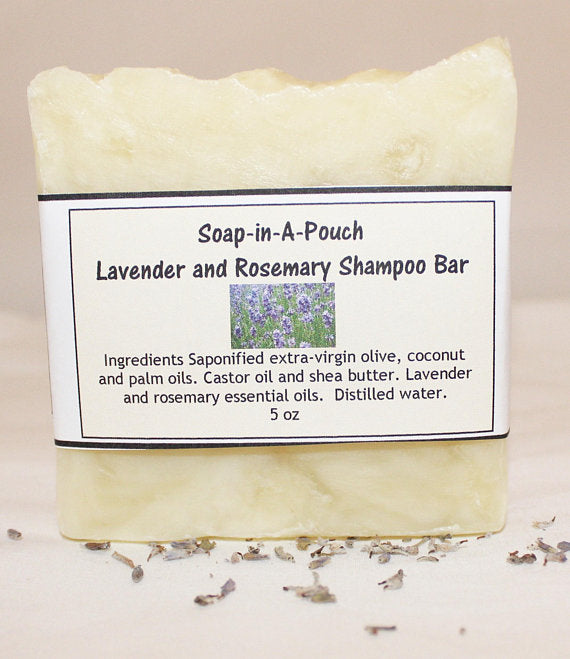 Lavender and Rosemary Shampoo Bar