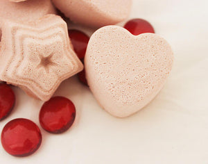 Mint Rose Colored Shower Steamers