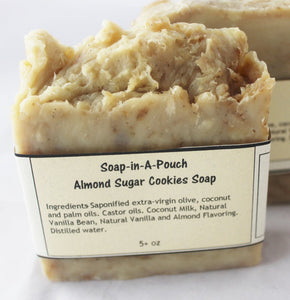 Vanilla and Almond Sugar Cookie Soaps