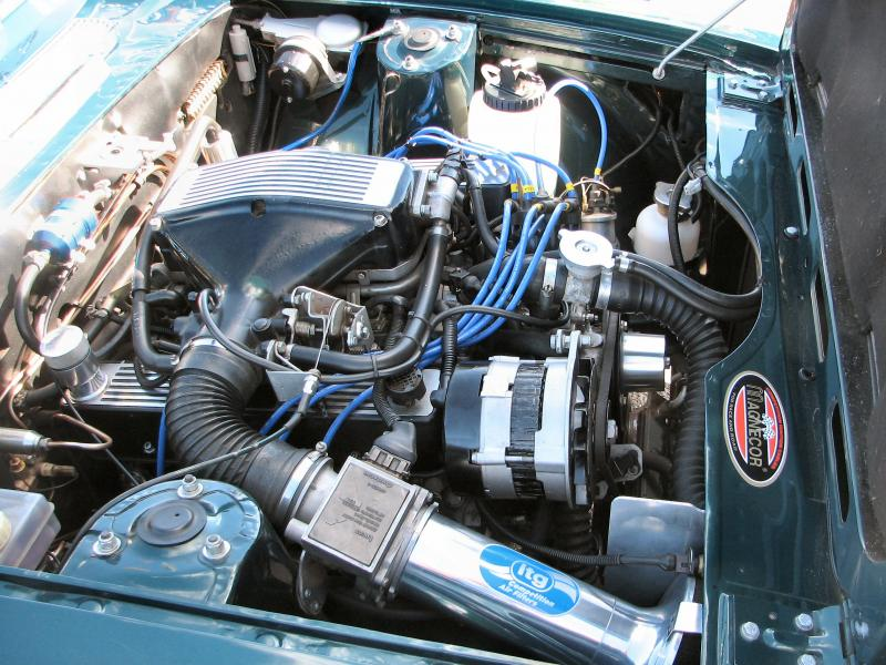 Rover 3.9 EFi engine conversion - a few pictures