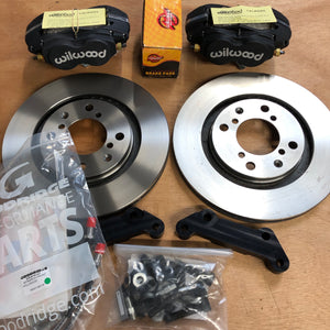 Wilwood 4-pot Brake Upgrade - Triumph Stag (Front)
