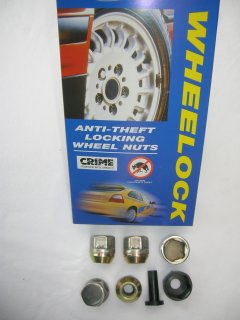 Locking Wheel Nuts - for Image Wheels