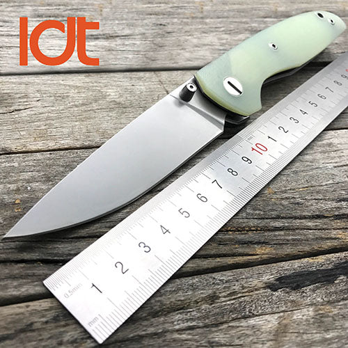 LDT Bear Folding Knife | 9Cr18Mov Steel | G10 Handles - Qatalyst