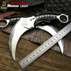 Fixed Blade Karambit | Outdoor, camping, survival, hunting, self defense, tactical knife - Qatalyst