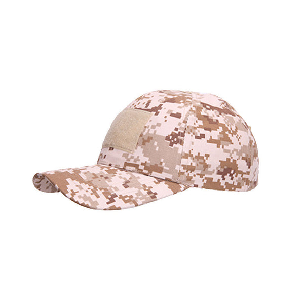 Tactical Cap Army Military Hat with Adjustable Velcro - Qatalyst