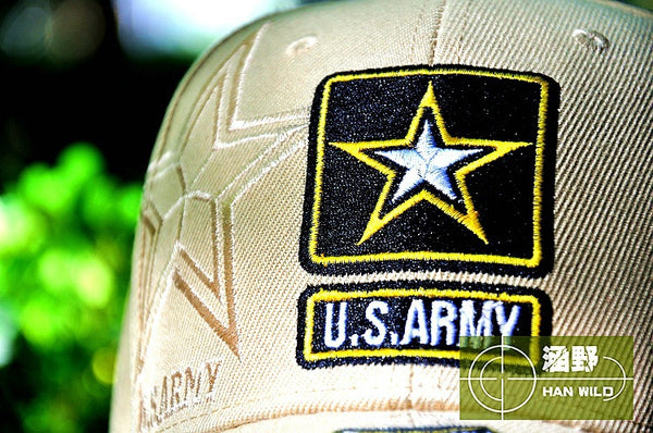 U.S. Army Star Logo Embroidered Baseball Cap - Qatalyst