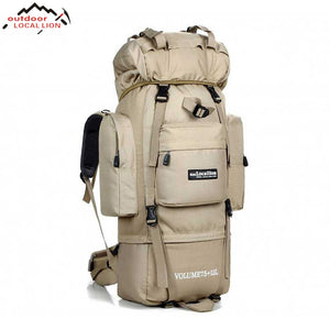 Big 85L Waterproof Backpack | Outdoor, Travel, Military, Climbing, Hiking, Camping | Molle Tactical Bag - Qatalyst