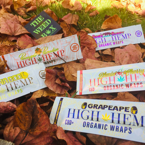 high hemp wrap flavors