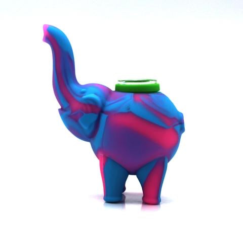 Silicone Elephant Hand Pipe